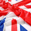 Flag of UK, British flag, union jack — Stock Photo