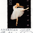 Stamp printed in USshows ballet — Stockfoto #2172889