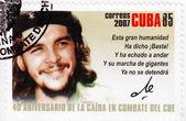 Stamp shows Che Guevara — Stock Photo
