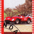 1956 year Ferrari 625 Le Mans - Stock Photo