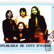 Stock Photo: Stamp shows Beatles