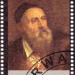 Stamp shows Tiziano Vecelli — Stock Photo #2199449