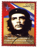 Stamp with Ernesto Che Guevara — Stockfoto