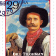 Stamp show Bill Tilghman - Stock Photo