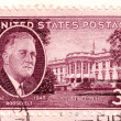 Royalty-Free Stock Photo: Stamp shows Franklin Delano Roosevelt
