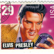 Stamp with Elvis Presley — Stock Photo #2217419