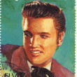 Stamp show singer Elvis Presley — Stock Photo #2218290