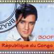 Постер, плакат: Elvis Presley stamp