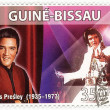 Stamp with Elvis Presley — Stock Photo #2218871