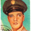 Vintage stamp with Elvis Presley — Stock Photo #2219108