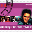 Stamp with Elvis Presley — Stock Photo #2219264
