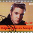 Stamp with Elvis Presley — Stock Photo #2219489