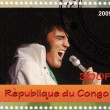 Stamp show singer Elvis Presley — Stock Photo #2219916
