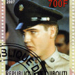 Stamp with Elvis Presley — Stock Photo #2220215