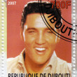 Stamp with Elvis Presley — Stock Photo #2220394
