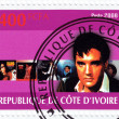 Elvis Presley stamp — Stock Photo #2220987