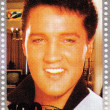 Stamp with Elvis Presley — Stock Photo #2221042