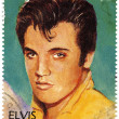 Stamp with Elvis Presley — Stock Photo #2221476