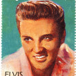 Stamp with Elvis Presley — Stock Photo #2221774