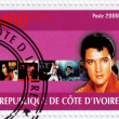 Stamp with Elvis Presley — Stock Photo #2222711