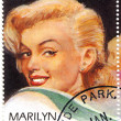 Vintage stamp with Marilyn Monroe — Stock Photo #2232156