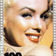 Royalty-Free Stock Photo: Stamp with Marilyn Monroe