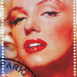 Постер, плакат: Stamp with Marilyn Monroe