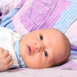 Newborn baby 12 days - Stock Photo