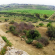 Rural Sicily, Agrigeno area,  Italy - Stock Photo