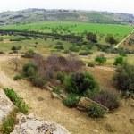 农村西西里岛,agrigeno 区,意大利 — 图库照片