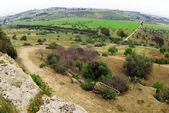 Rural Sicily, Agrigeno area, Italy — Stock Photo
