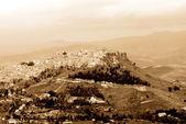 Old Italy ,Sicily, Enna city — Stock Photo