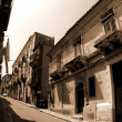 Old Italy, Ragusa city, Sicily — Stock Photo