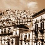 Old Italy, Modica city, Sicily — Stock Photo