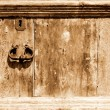 Royalty-Free Stock Photo: Fragment of wooden vintage door