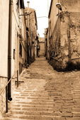 Old Italy ,Sicily, Enna city — Stock Photo
