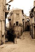 Old Italy ,Sicily, , Enna city — Stock Photo