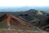 Mount Etna on Sicily, Italy — Stock Photo
