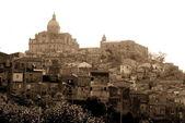 Old Italy ,Sicily, Piazza Armerina city — Stock Photo