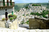 Classic old Italy - Ragusa, Sicily — Stock Photo