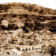 Old Italy ,Sicily, Modica - Stock Photo