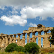 Old Italy, Greek temple in Agrigento - ストック写真