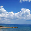 Sicily coast at Marinella Di Selinunte — Stock Photo