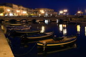 Night in Siracuse, Sicily, Italy — Stock Photo