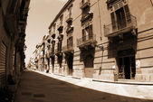 Old Italy,Sicily, Trapani city — Stock Photo