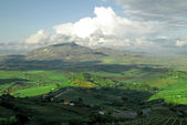 Clasical landscape Italy ,Sicily — Stock Photo