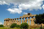 Eski i̇talya, agrigento'da yunan tapınağı — Stok fotoğraf