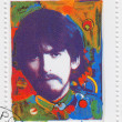 Stamp shows George Harrison — Stock Photo #2306559