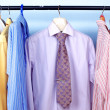 Mix color Shirt and Tie — Stock Photo
