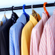 mix colore camicia e cravatta — Foto Stock